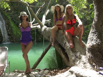 Lana, Kira & Nastia - Green Lake